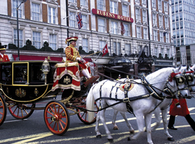 London & Southern England featuring Downton Abbey locations