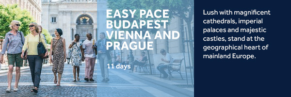 Easy Pace Budapest, Vienna and Prague